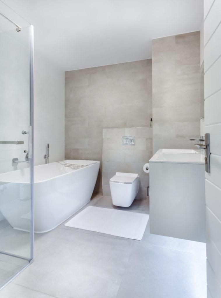 Sanitär: Modernes Badezimmer